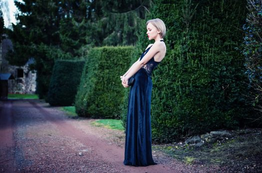 "BELGIUM: NOT MY WEDDING IN A ""MALEFICENT"" LONG BLACK DRESS"