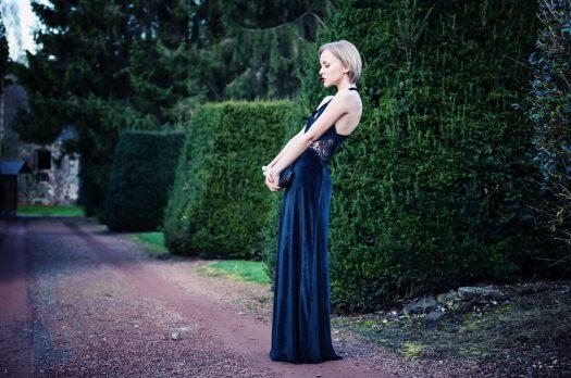 "BELGIUM: NOT MY WEDDING IN A ""MALEFICENT"" LONG BLACK DRESS"