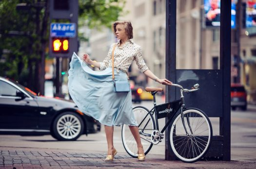 DALLAS: BICYCLE OUTFIT OR WHEN YOU RIDE A BIKE