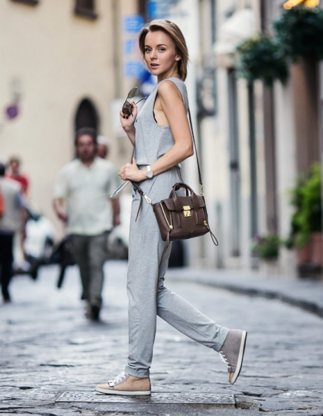 FIRENZE4EVER 2014: ARRIVAL IN A GREY JUMPSUIT