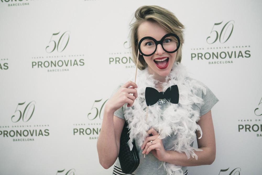 darya kamalova fashion blogger from thecablook in trip in Barcelona Spain with Pronovias wearing zara striped dress bottega veneta knot clutch for press dinner-1026