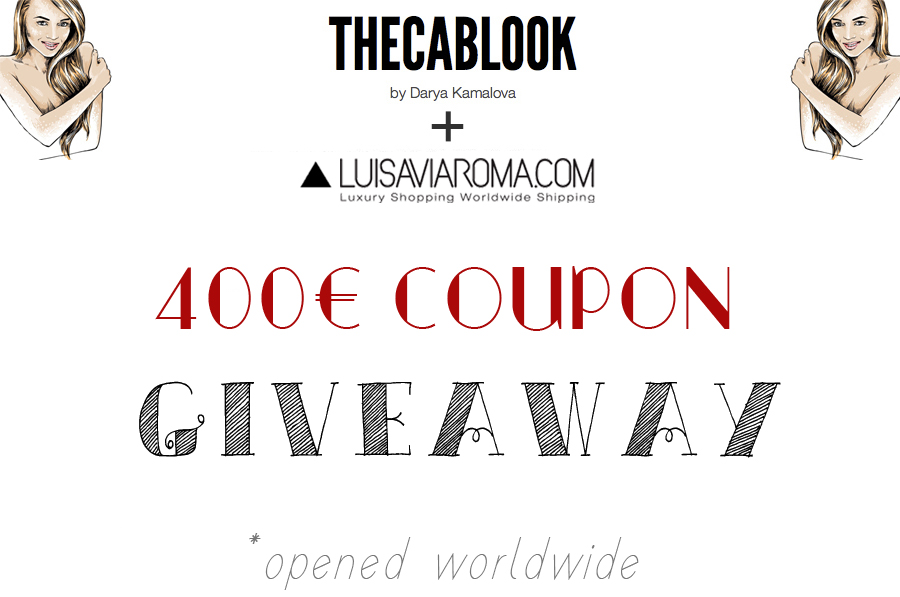 THECABLOOK + LUISAVIAROMA GIVEAWAY - THECABLOOK by Darya Kamalova