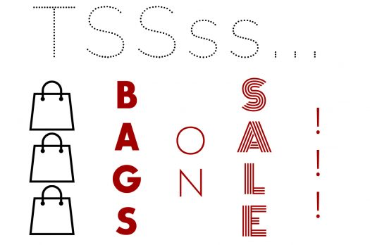 I CHOOSE: BAGS ON SALE