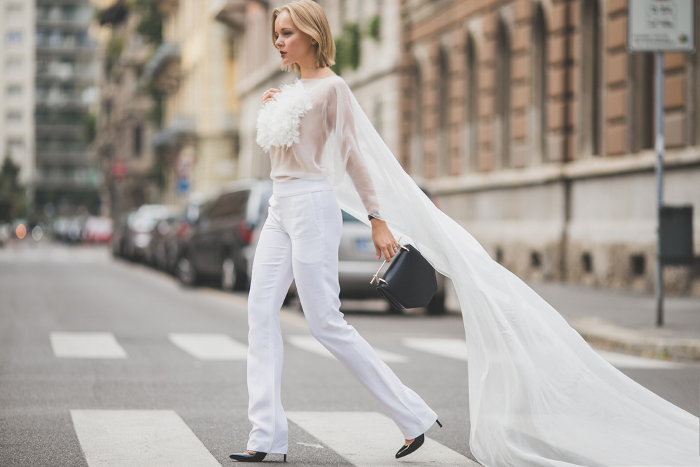 darya kamalova russian italian fashion lifestyle blogger in milan for mfw wearing uel camilo jumpsuit m2malletier bag and gucci heels on dsquared and just cavalli shows-4447