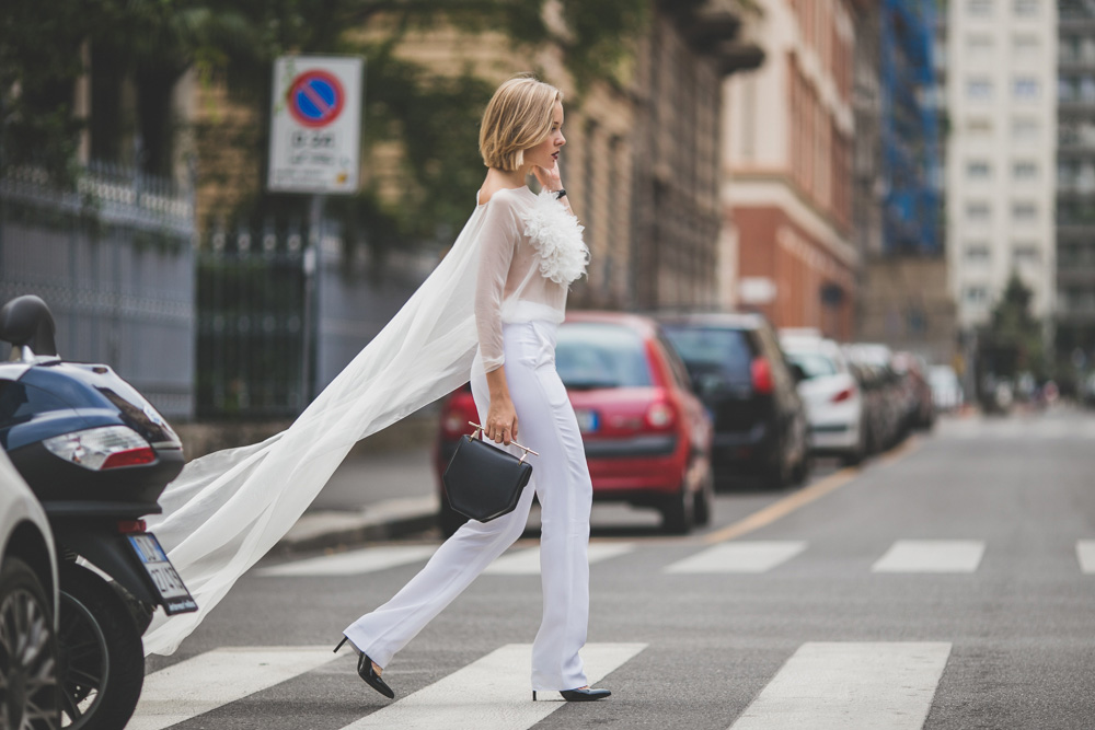 darya kamalova russian italian fashion lifestyle blogger in milan for mfw wearing uel camilo jumpsuit m2malletier bag and gucci heels on dsquared and just cavalli shows-4449