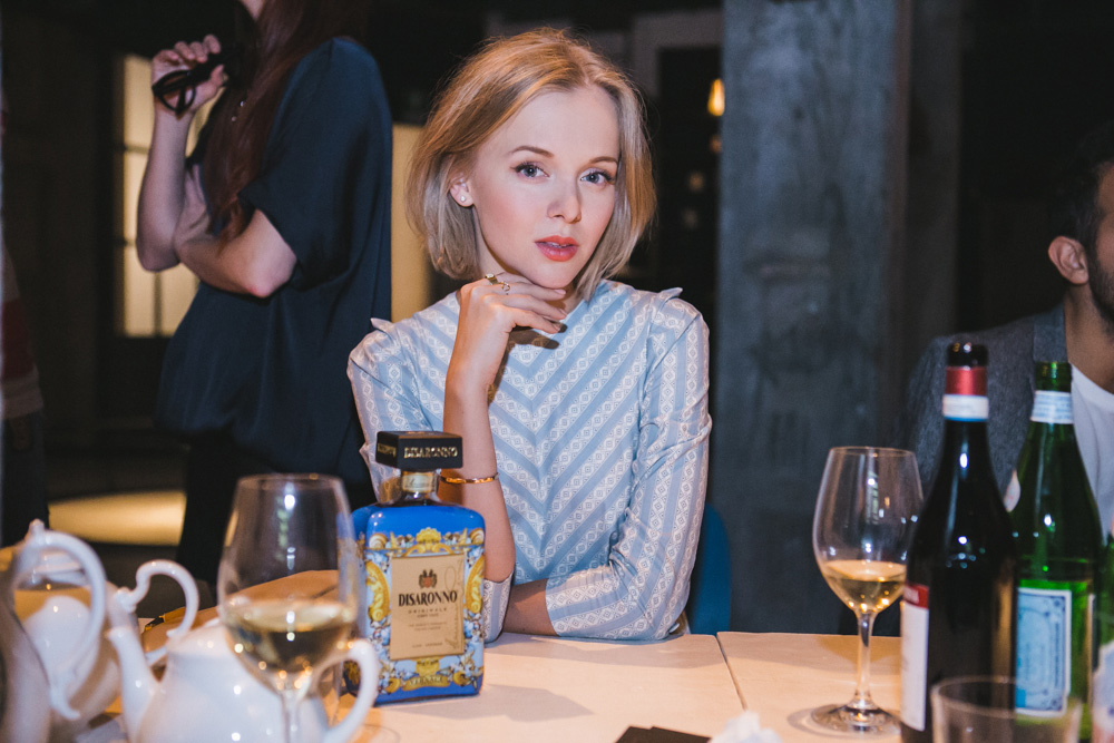 darya kamalova thecablook com russian italian fashion lifestyle blogger in milan disaronno wears versace event in segheria in rafinad dress marni clutch jimmy choo choes-4650